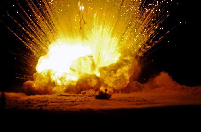 основные поражающие факторы взрыва