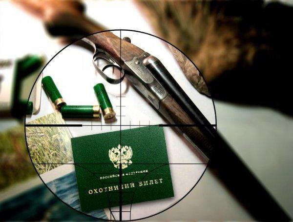 охотничий билет единого федерального образца фото