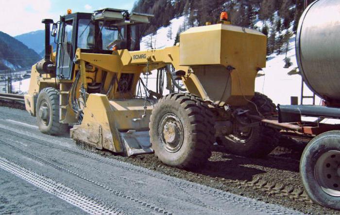 стабилизация грунта дороги
