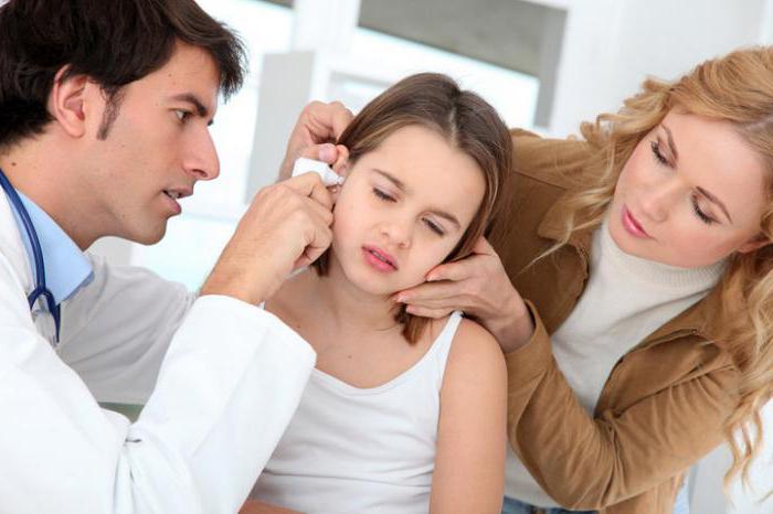 гной в ушах лечение
