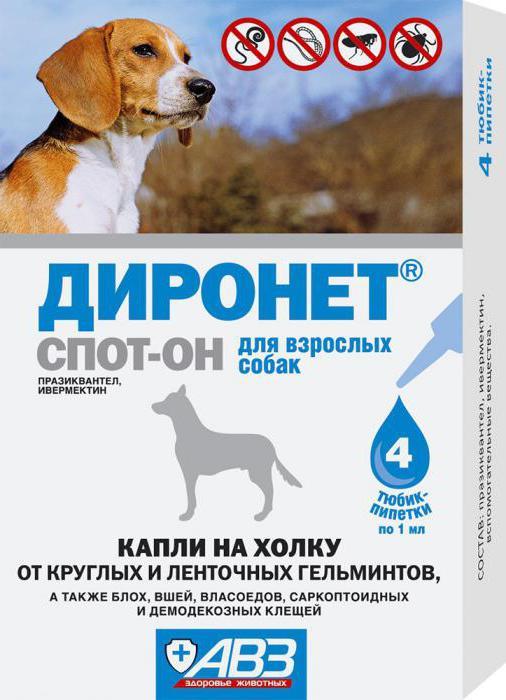 диронет для собак инструкция