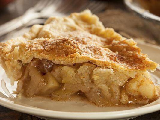 пирог гости на пороге рецепт с яблоками