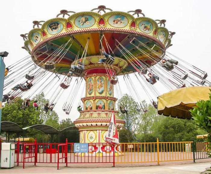 сонник кататься на карусели в парке