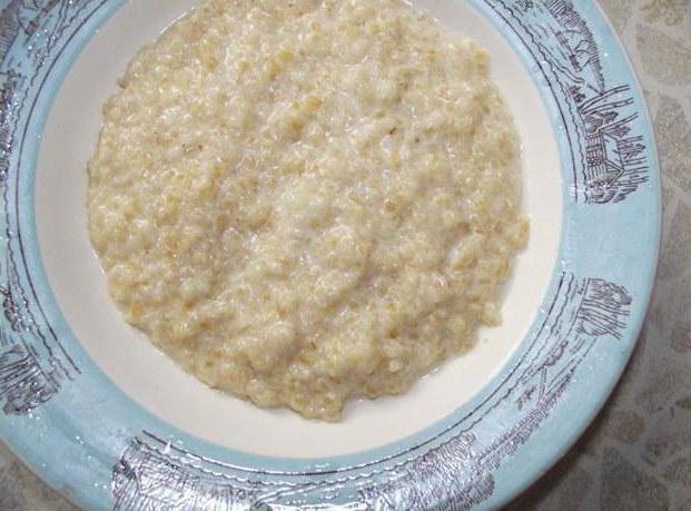 Рецепт как варить пшеничную кашу на воде