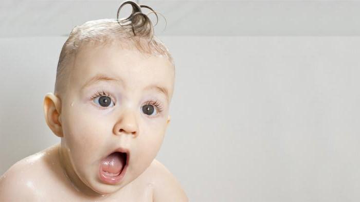у ребенка появились седые волосы