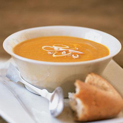 морковный суп пюре рецепт