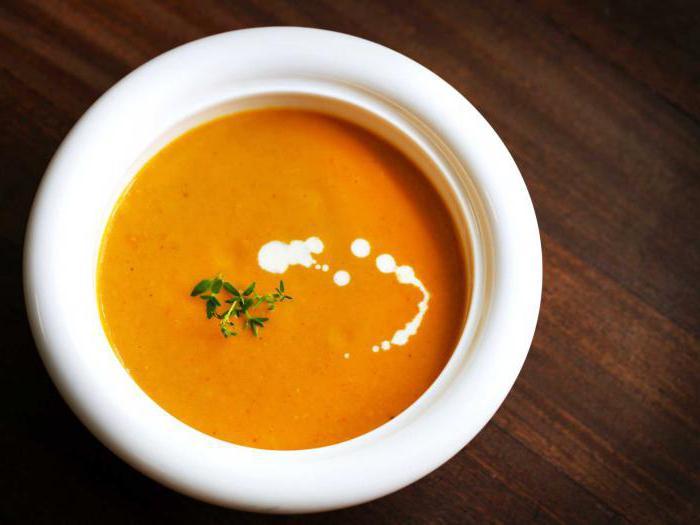 лучший рецепт морковного супа пюре