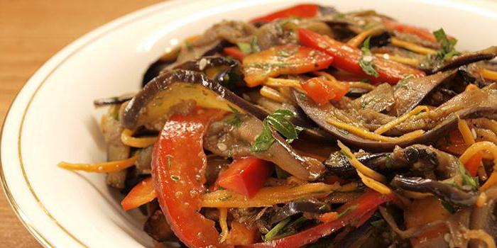 Баклажаны по корейски пошаговый рецепт с фото