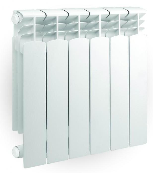 установка алюминиевых биметаллических радиаторов отопления