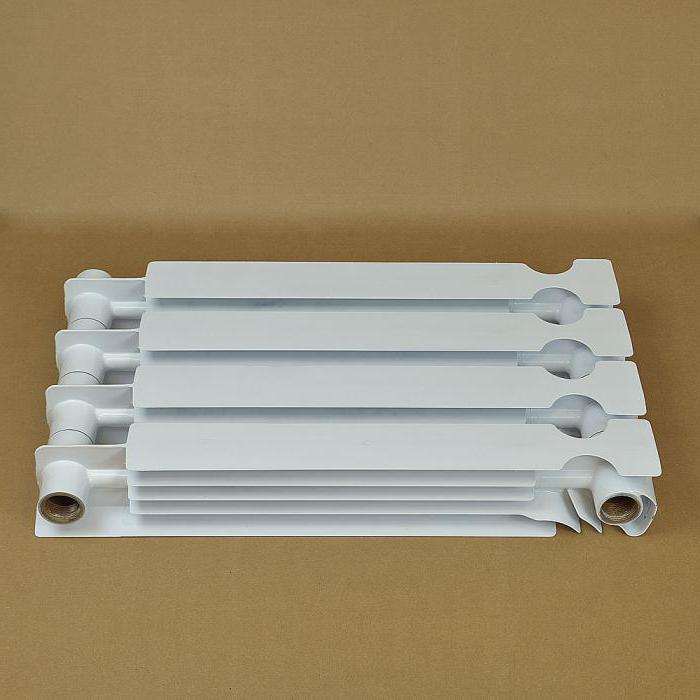 как узнать радиатор алюминиевый или биметаллический