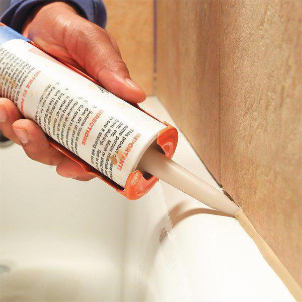 Как отмыть монтажную пену с плитки