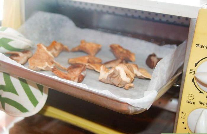 сушка грибов в микроволновке