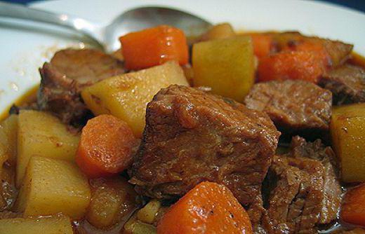 Мясо с картошкой в мультиварке рецепт с фото из свинины