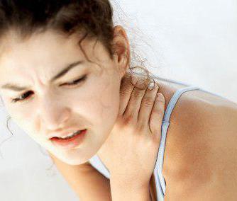 остеохондроз шейного отдела позвоночника признаки