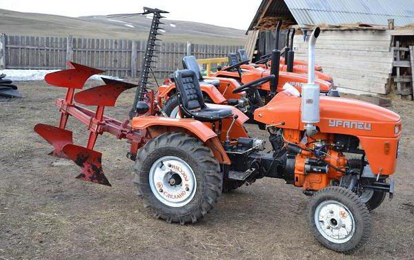 трактор уралец 220