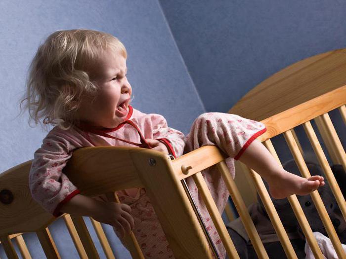Почему ребенок 2 года плачет когда просыпается