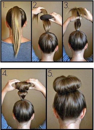 Как сделать кулю на голове