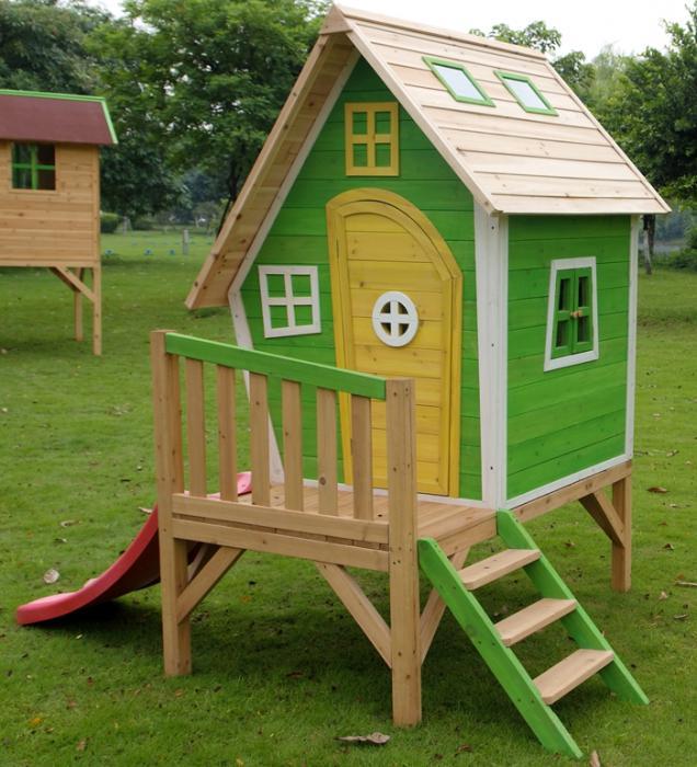 Фото деревянного домика своими руками для детей