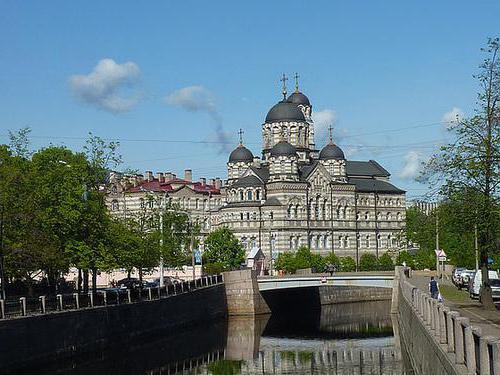 храмы соборы Санкт-петербурга описание