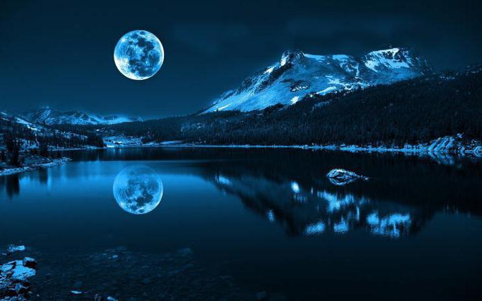 гадание по луне