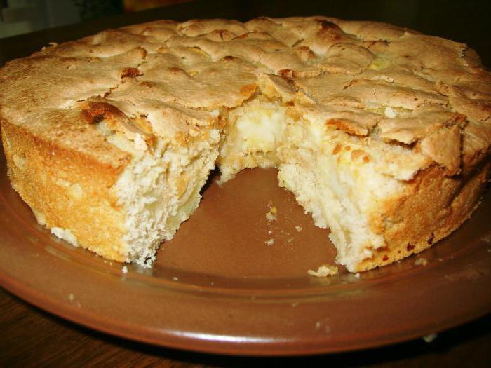 корнуэльский пирог с яблоками