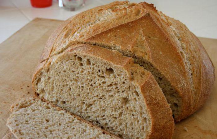 состав серого хлеба