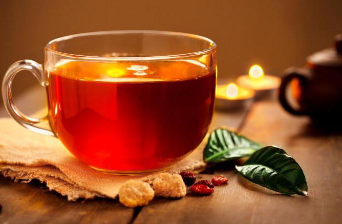 чай с коньяком польза