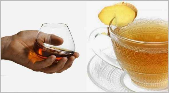 ложка коньяка в чай