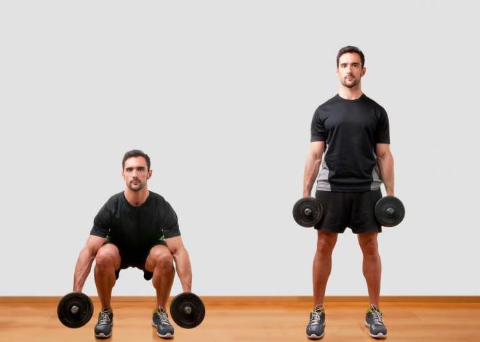 тренировка на низ тела