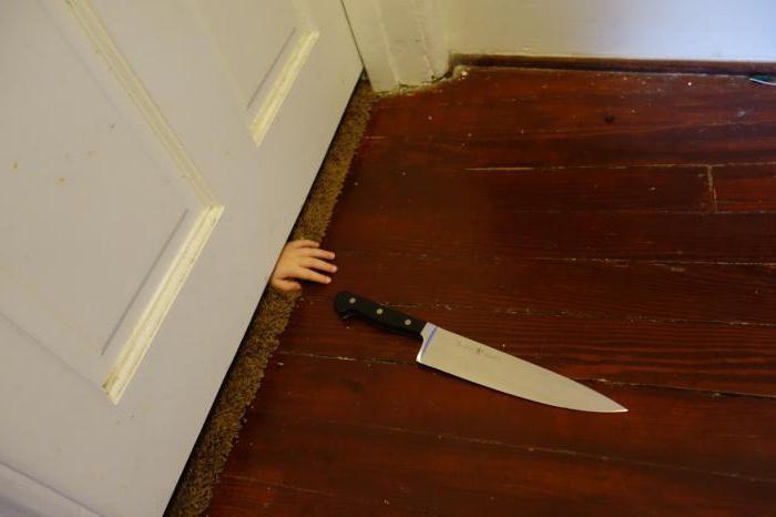 приснилсч нож к чему примета своей