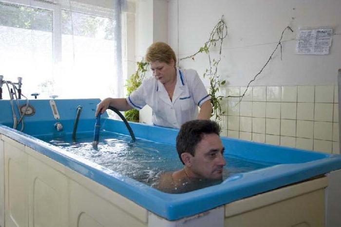 показания бишофитных ванн