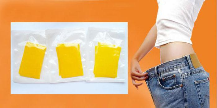 инструкция применения пластыря для похудения