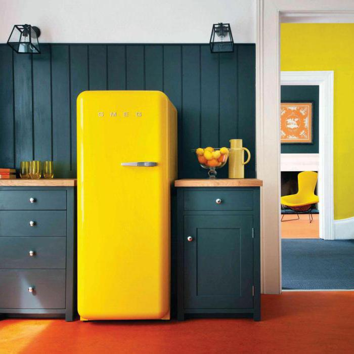 холодильник в стиле ретро фото