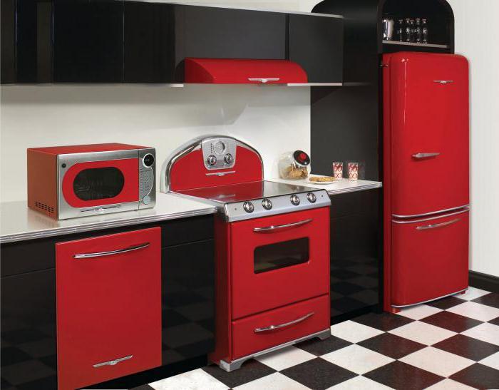Холодильник в стиле ретро Bosch