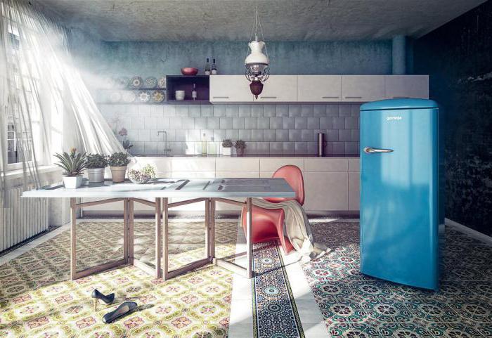 холодильник ретро стиль Gorenje
