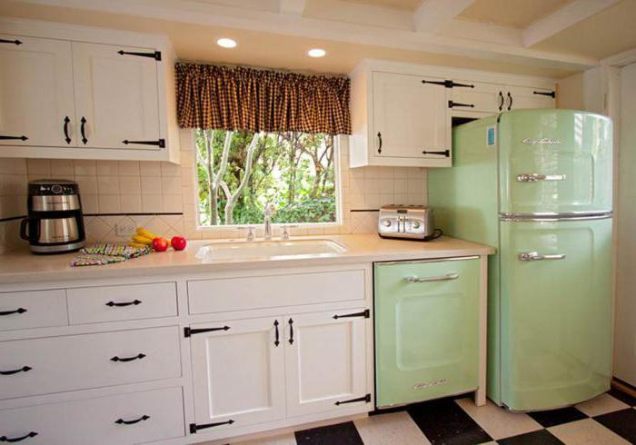 холодильник в стиле ретро Минск