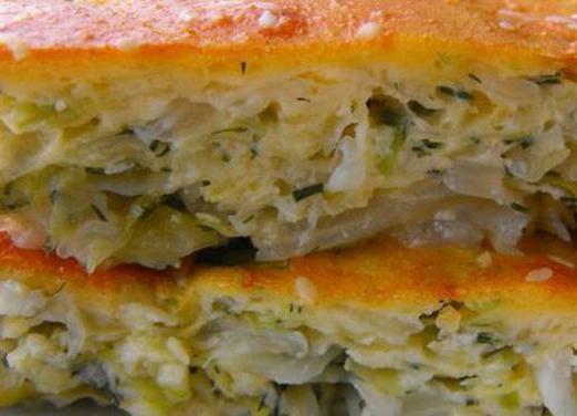 вкусный пирог с капустой рецепт с фото пошагово в духовке