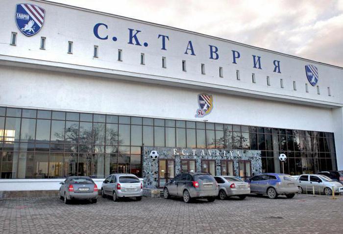 стадион локомотив симферополь