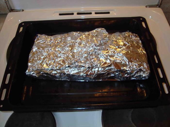 баранина в фольге запеченная в духовке рецепт с фото