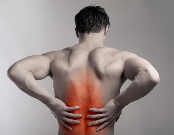 сильная боль в спине при кашле