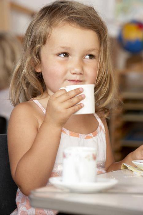 с какого возраста можно давать детям чай с имбирем