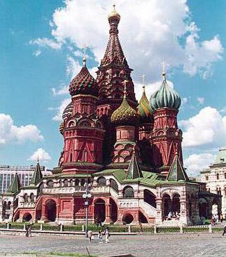 покровский собор Василия Блаженного в Москве