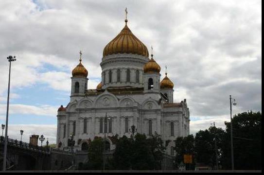 Москва соборы