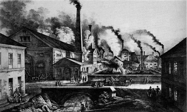 an analysis of the effects of the industrial revolution on the united states The industrial revolution began in britain at the end of the 18th century, and for much of the 19th century it was the dominant industrial power in the world by the 1880s, however, it was bypassed by the united states — and then by germany at the turn of the century in both cases, the newcomers.