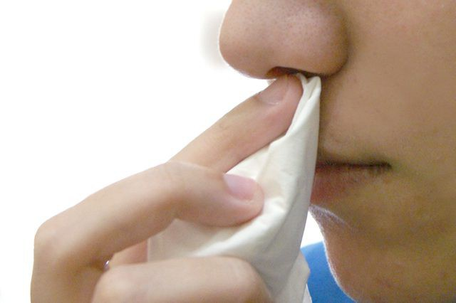 это белье течь из носа что это Это