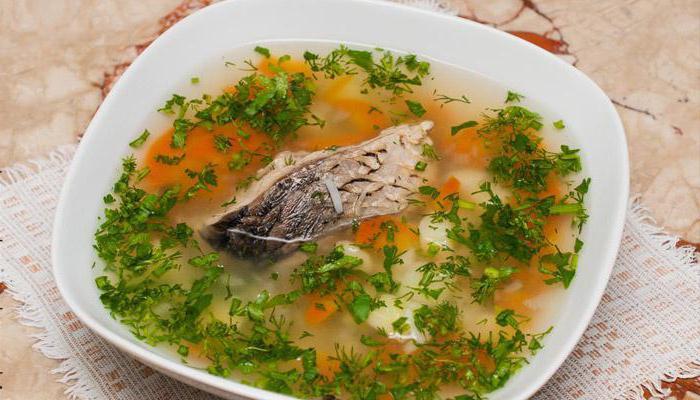 Рецепт рыбного супа из консервы с пшеном