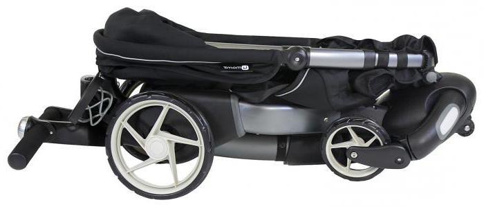 как сложить коляску трансформер bebetto