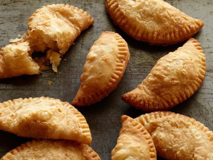 пирожок с картошкой и грибами калорийность