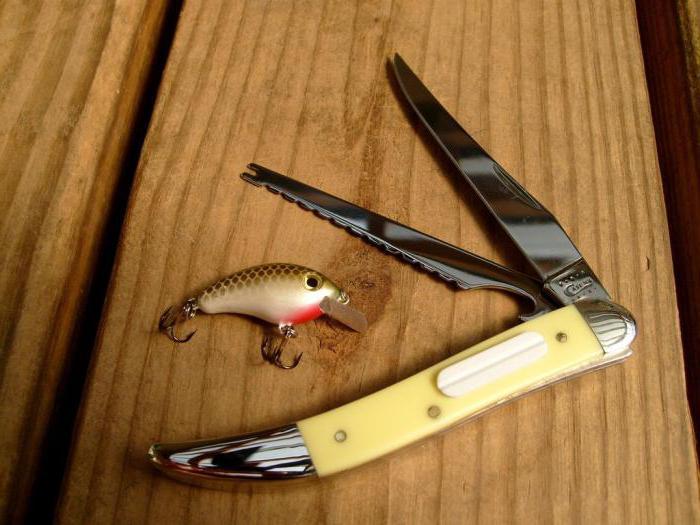 нож рыбацкий плавающий