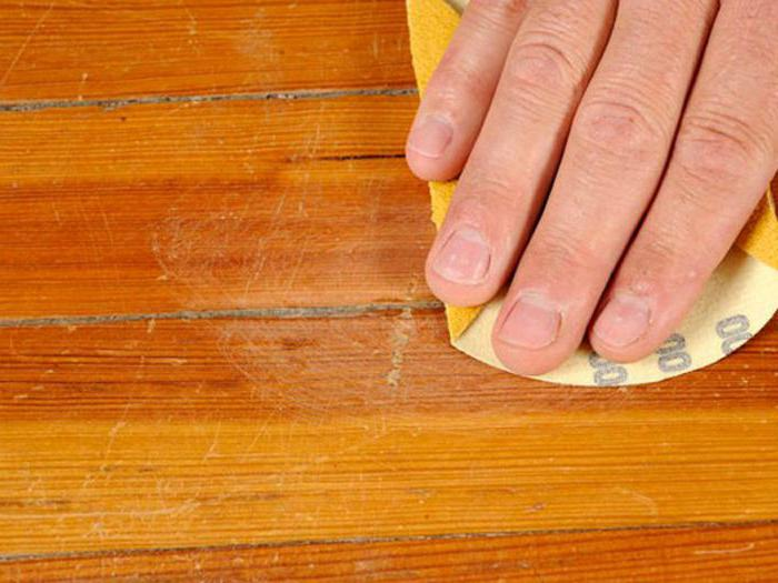 как убрать царапины от мебели с ламината
